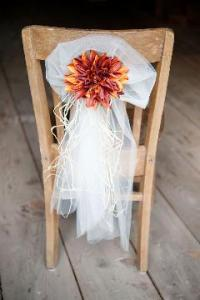 Dahlia Chair Sash